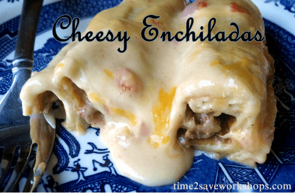 Easy Cheesy Enchiladas Recipe