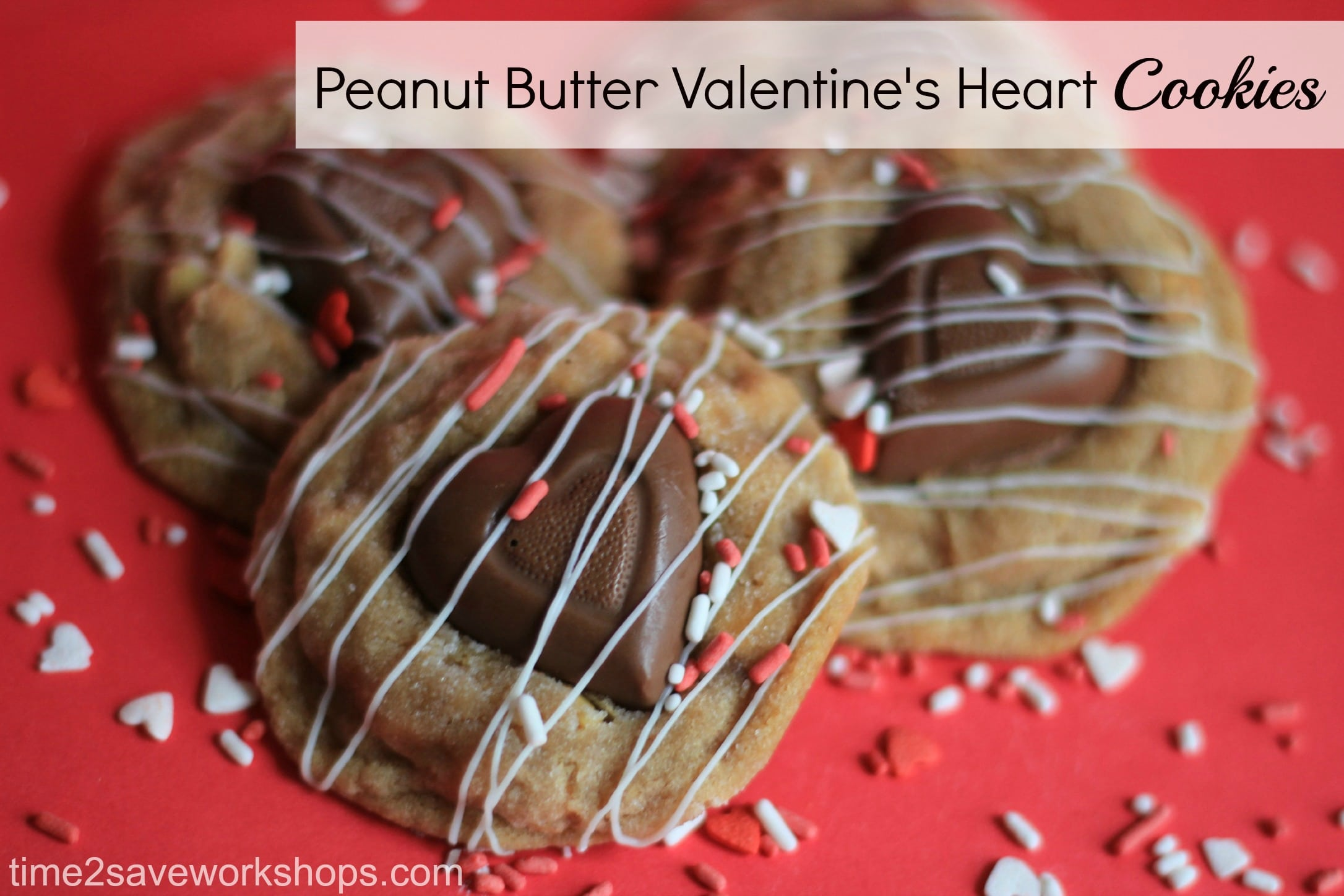 Valentine Day Dessert Recipes Peanut Butter Valentine Heart Cookies