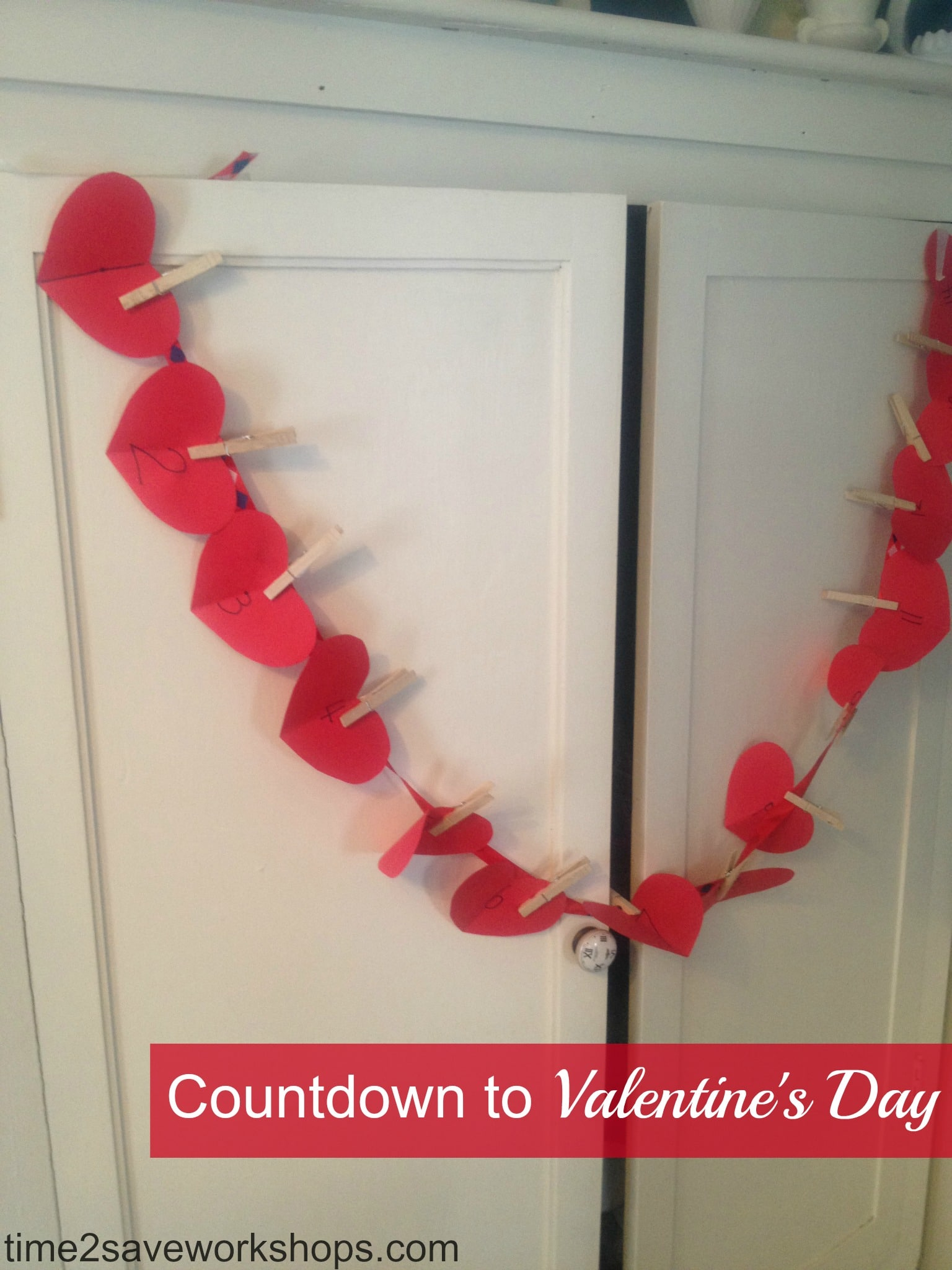 Countdown to Valentines Day