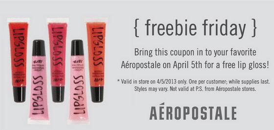 aeropostale-freebie