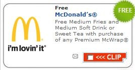 mcds coupons