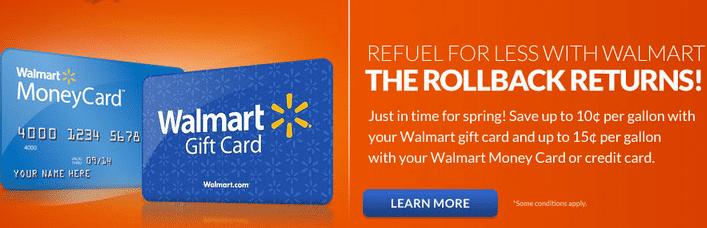 Gas Card Walmart Gas Card Discount