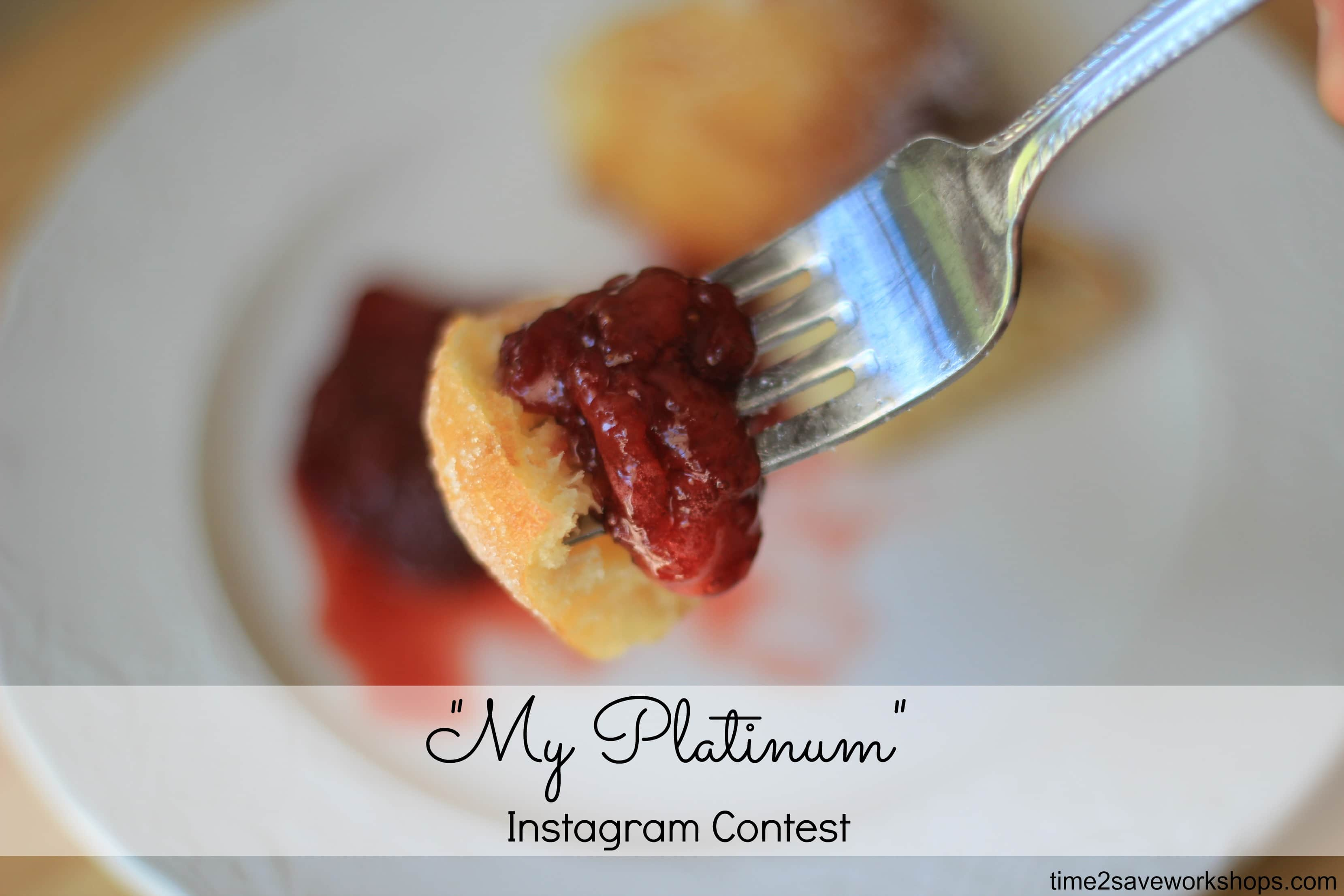My Platinum instagram contest