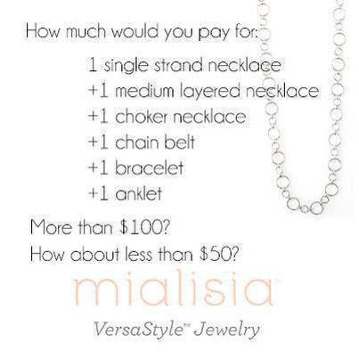 Mialisia VersaStyle Jewelry on time2saveworkshops.com