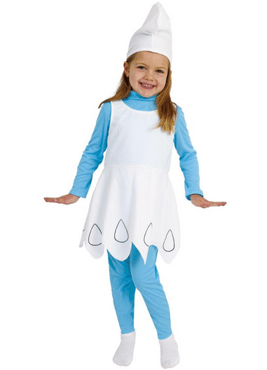 Diy smurfette no sew costume kasey trenum diy smurfette no sew costume solutioingenieria Image collections