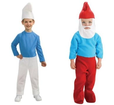 Smurf Costume Variations
