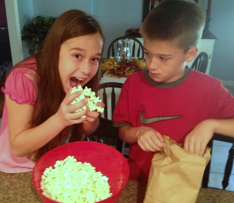 popcorn ball fun