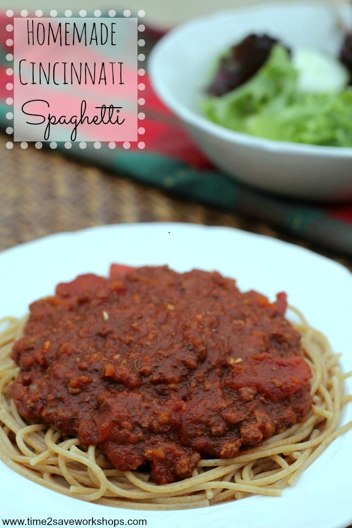 cincinatti spaghetti