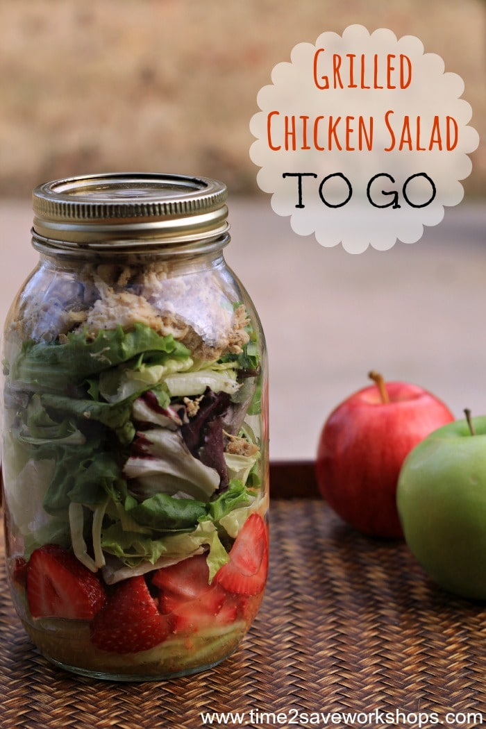 grilled chicken salad to go2