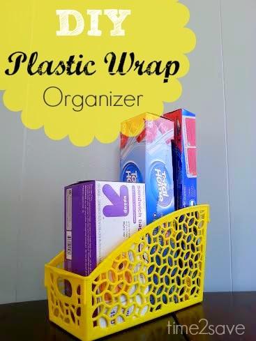 plastic-wrap-organizer
