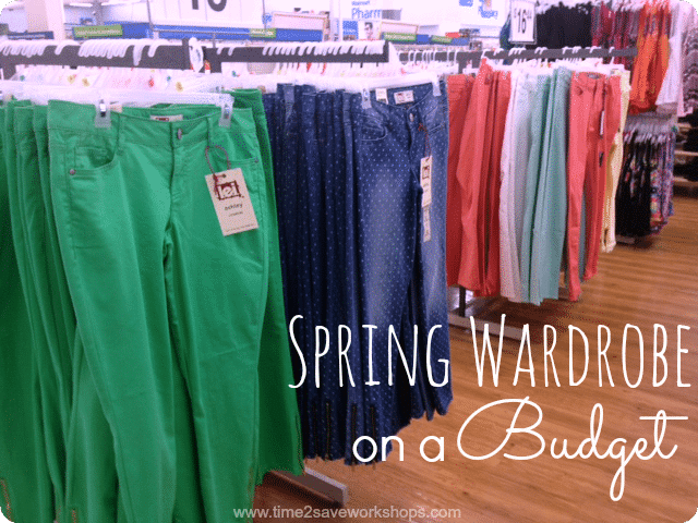 Tips on Saving Money on your Spring Wardrobe
