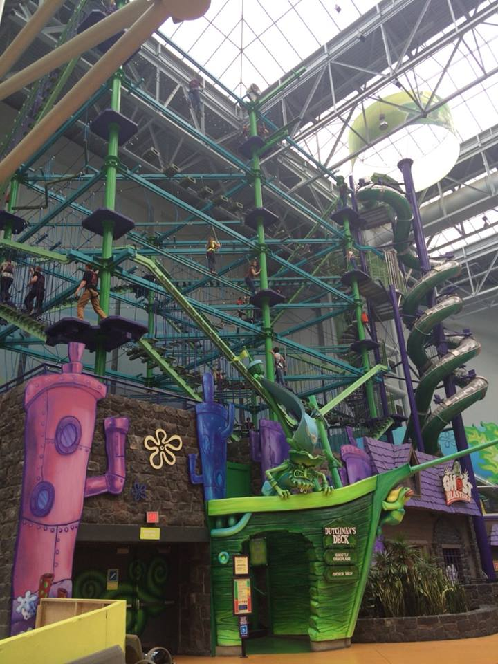 Includes one all day wristband to Nickelodeon Universe + 2 Tier A Attractions (SEA LIFE® Minnesota Aquarium, FlyOver America, Crayola Experience or Dutchman's Deck)* + 1 Tier B Attraction (Moose Mountain Adventure Golf, Rock of Ages Black Light Mini Golf or Amazing Mirror Maze)*.
