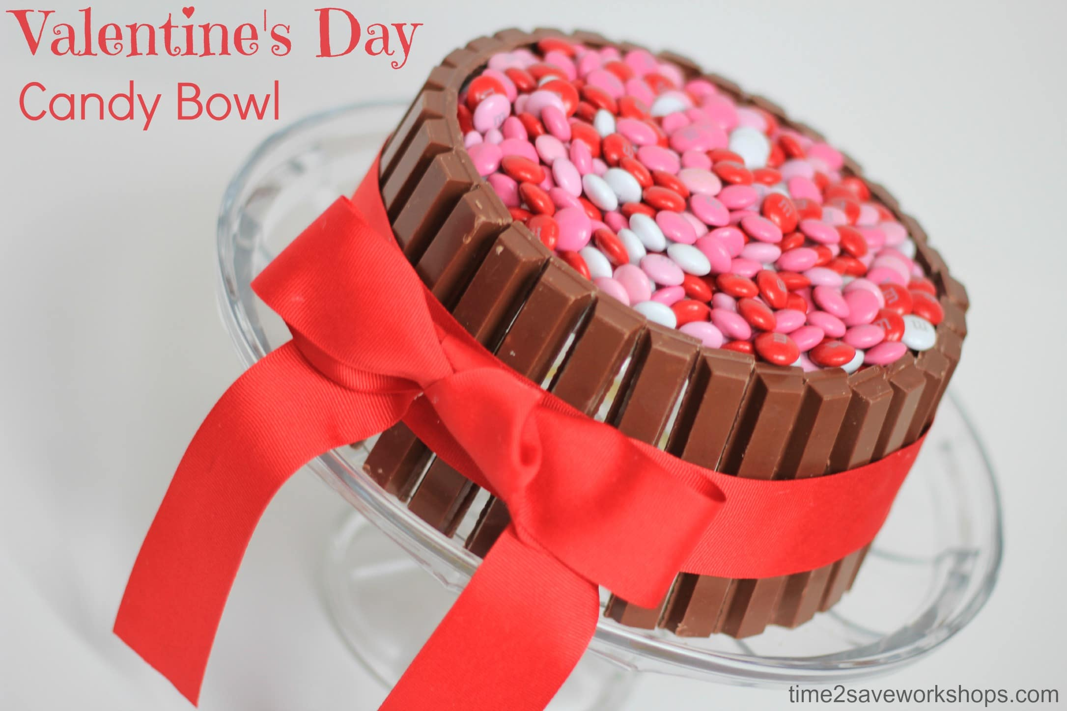Cute Valentine's Day Ideas: DIY Candy Bowl - Kasey Trenum