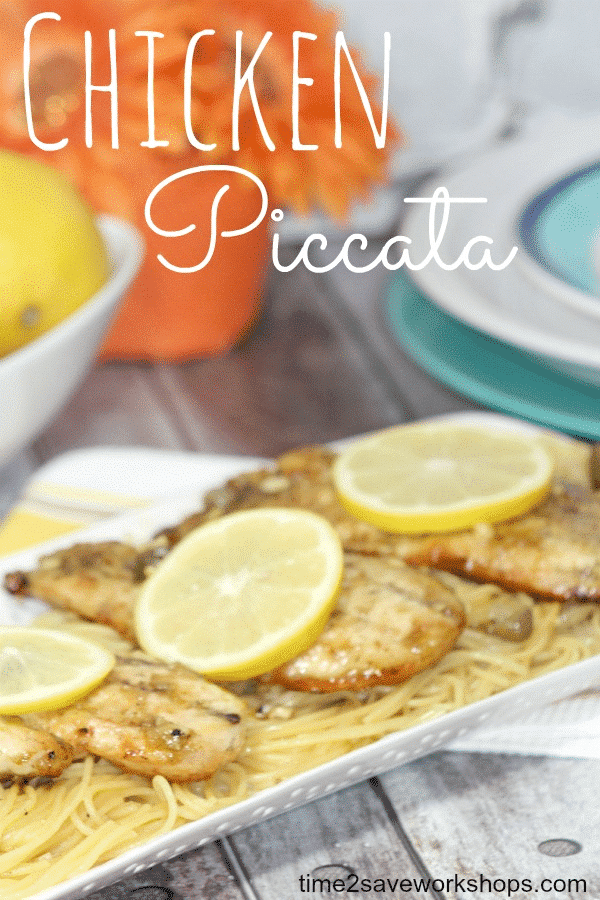 Easy Chicken Piccata Recipe Includes Healthy Version Kasey Trenum
