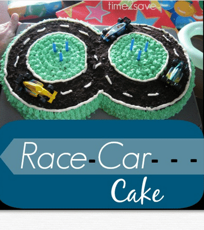Easy Race Car Cake