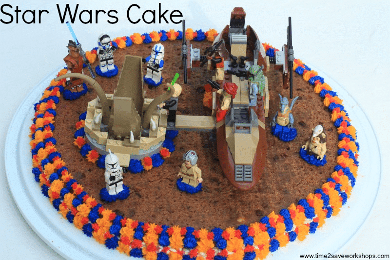 How To Decorate A Star Wars Birthday Cake