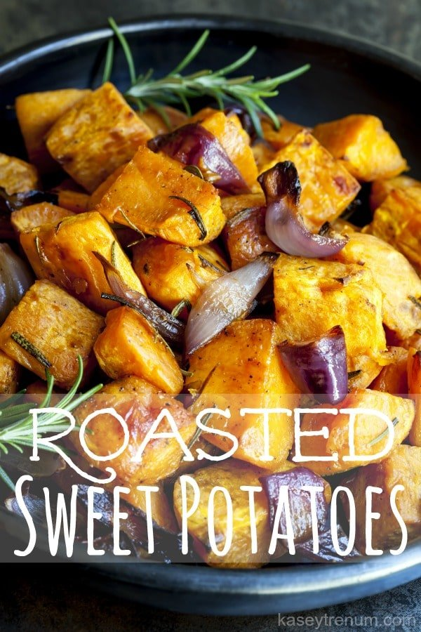 Roasted Sweet Potatoes Recipe {So Easy and Delicious!}