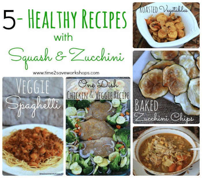 5 Healthy Squash and Zucchini Recipes