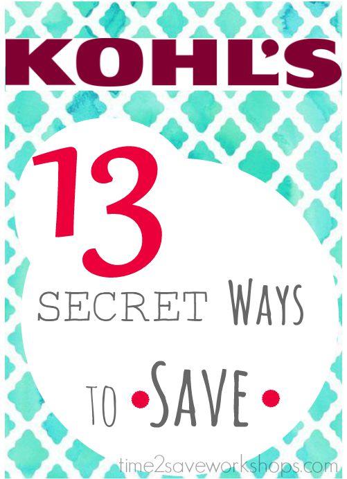 10cb9c063 Ways to Save at Kohl's | 13 Secret Shopping Tricks! | Kasey Trenum