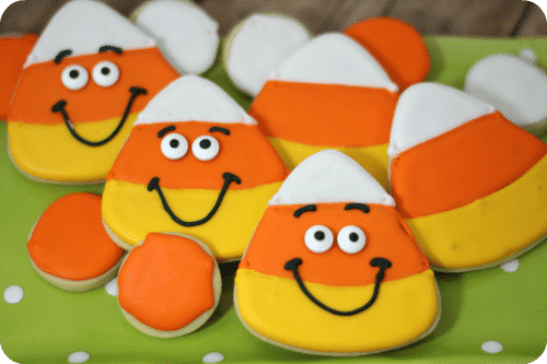 Candy corn cookies 3-4