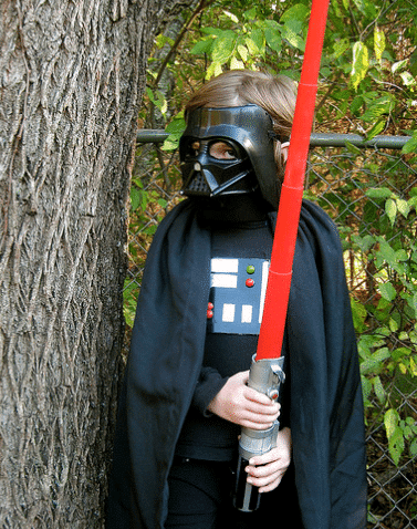 homemade halloween costume ideas - Halloween Darth Vader