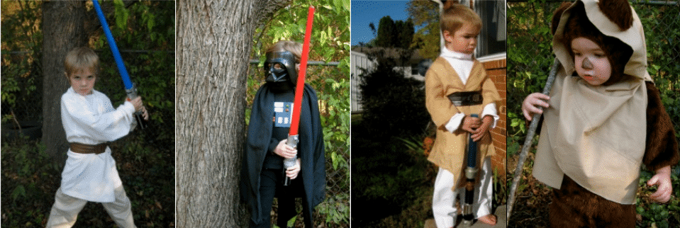 how to make a star wars costume easy
