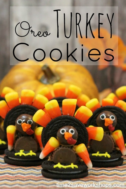 Oreo Turkey Cookies {Recipe & Step-By-Step Directions ...
