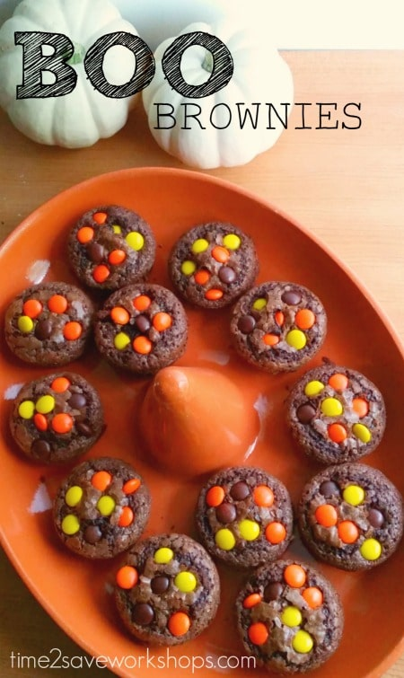 Boo Brownie Cupcakes Recipe