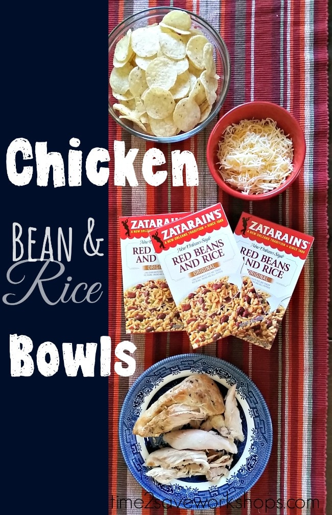 chicken-bean-rice-bowls