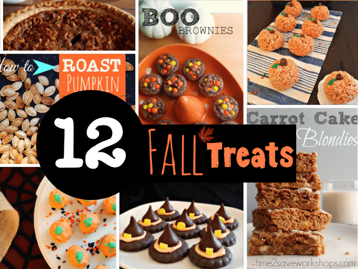 12 FALL Treat Ideas!