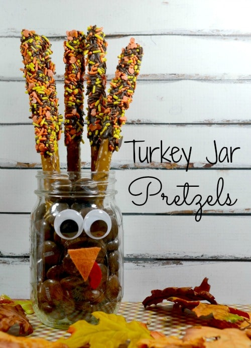 Turkey Jar Pretzels