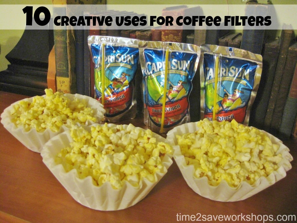 10 creative uses for Coffe Filters