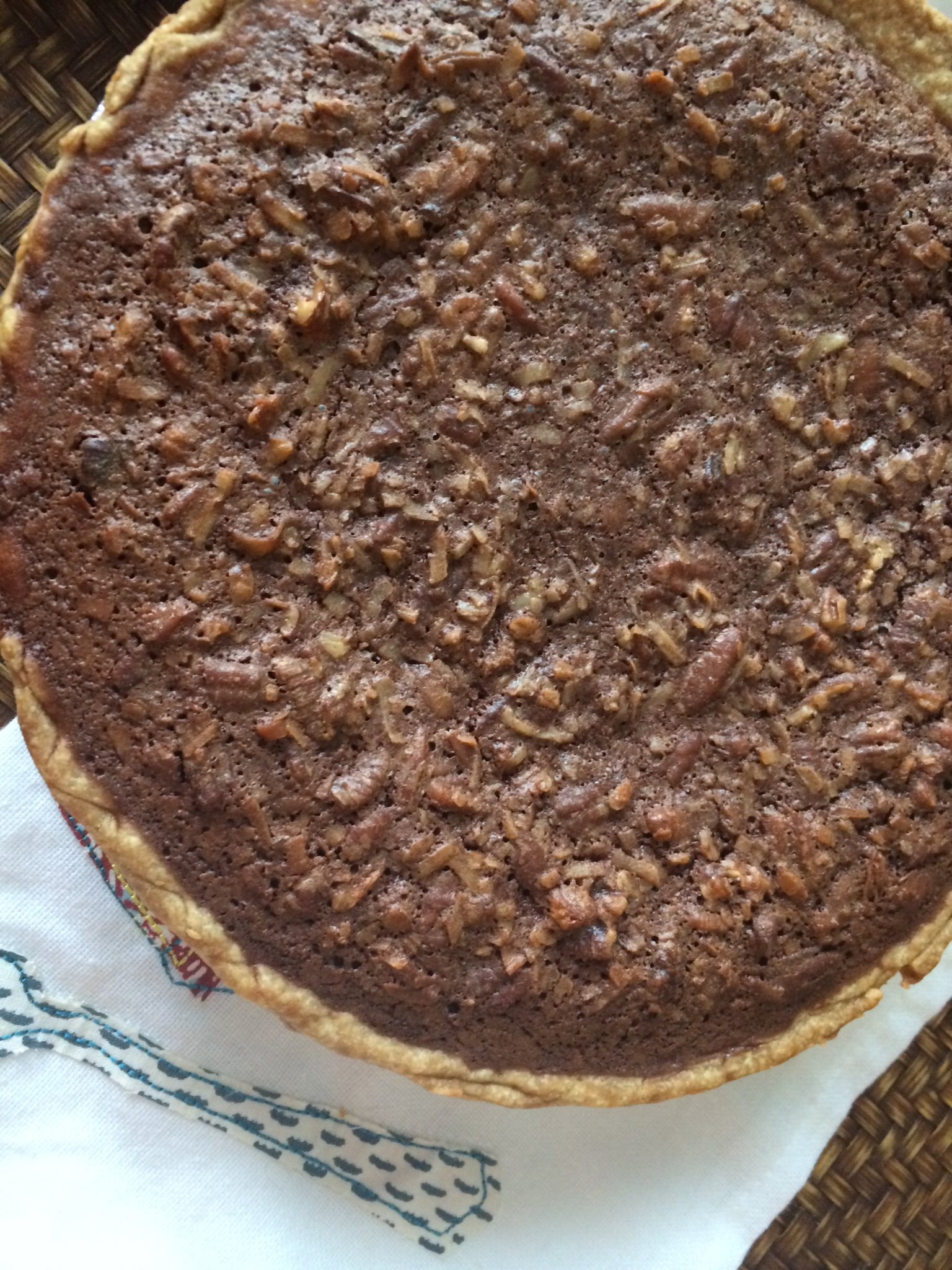 German Chocolate Pecan Pie Recipe - Kasey Trenum
