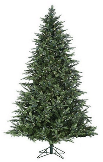 7.5 foot christmas tree walmart black
