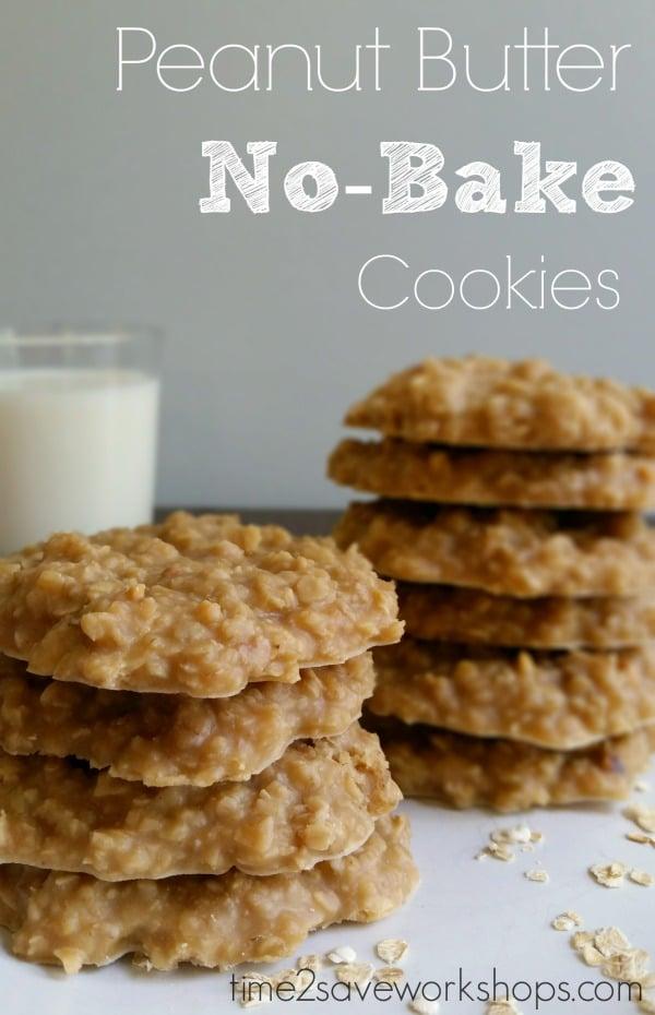 Peanut Butter No-Bake Cookies Recipe