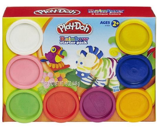 playdohrainbow
