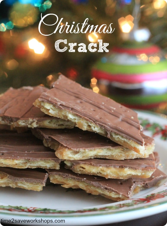 christmas crack cookie bites best cookies ever