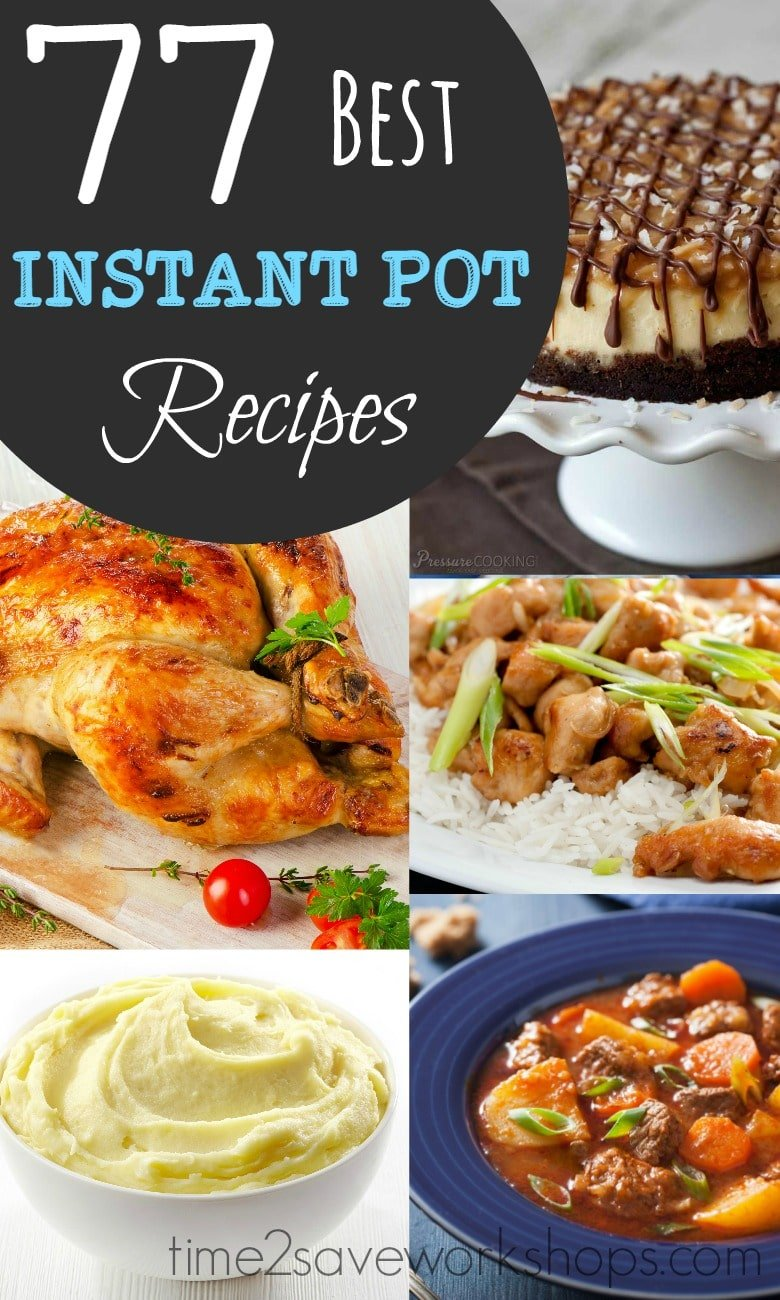 Best instant pot recipes to try kasey trenum for Best instant pot pressure cooker recipes