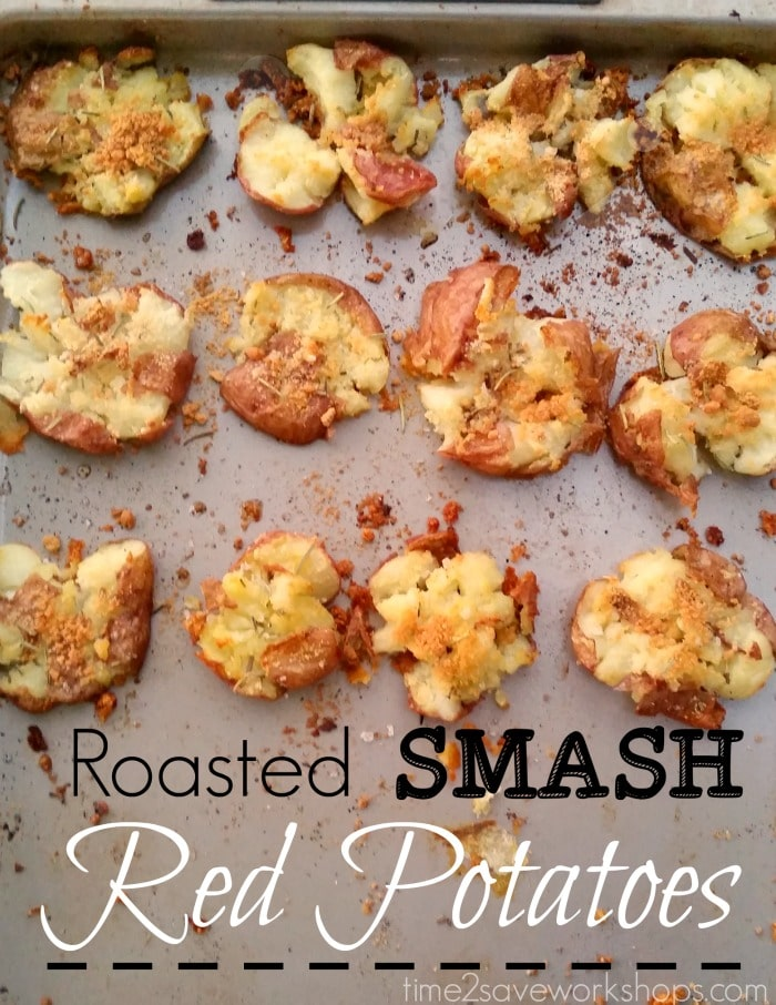 Roasted Smash Red Potatoes Recipe