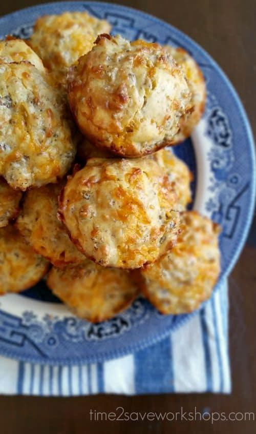 sausage-ball-muffins-plate