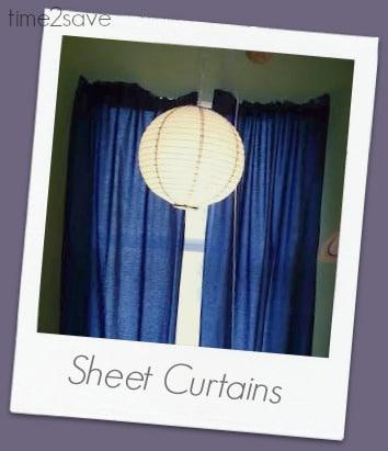 sheet-curtains