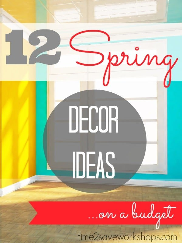 Spring Decorating Ideas On A Budget Day 2 Kasey Trenum