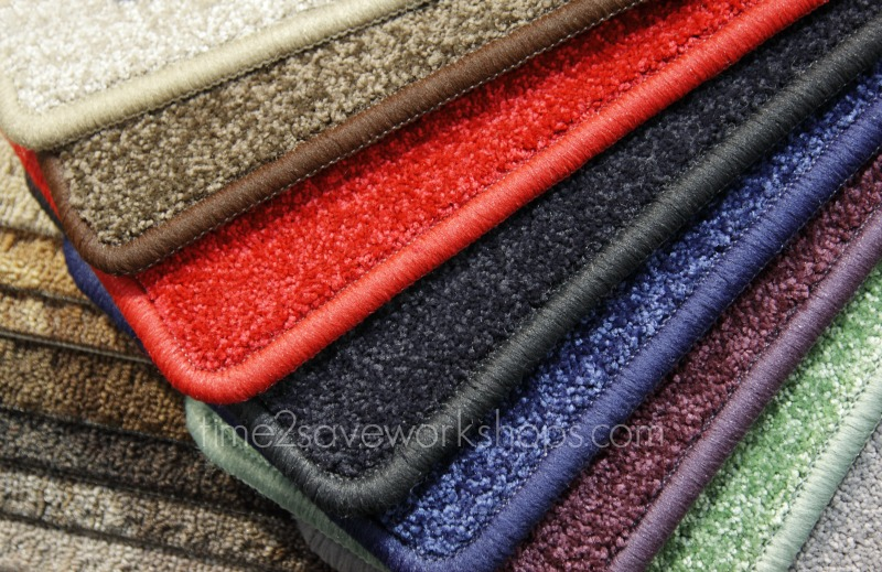 How to Make a Rug out of Carpet Remnants - Time 2 Save ...