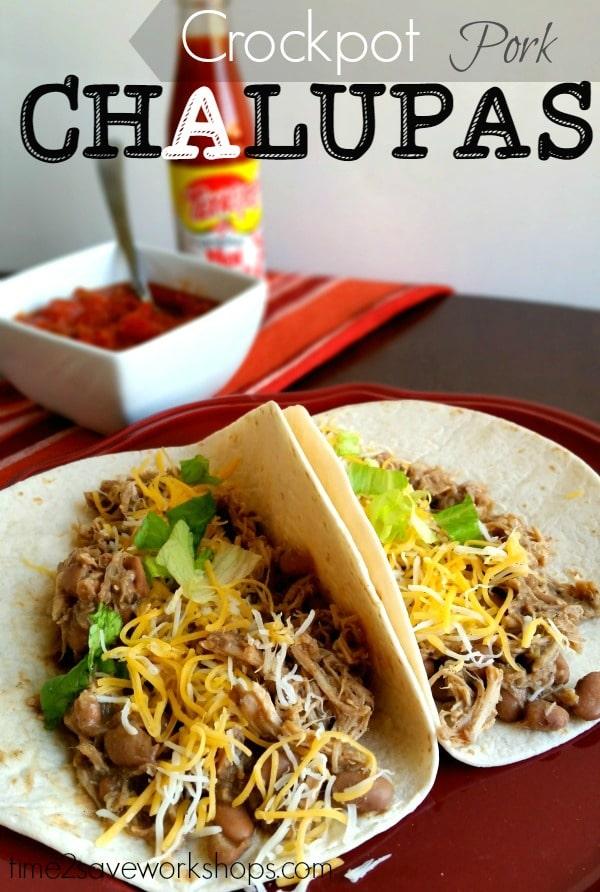 Recipe for chalupas pork