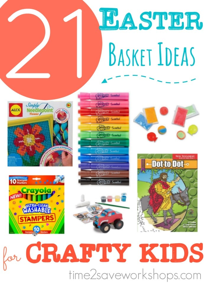 21 cheap easter basket ideas for artsycrafty kids kasey trenum easter basket ideas for crafty kids negle Image collections