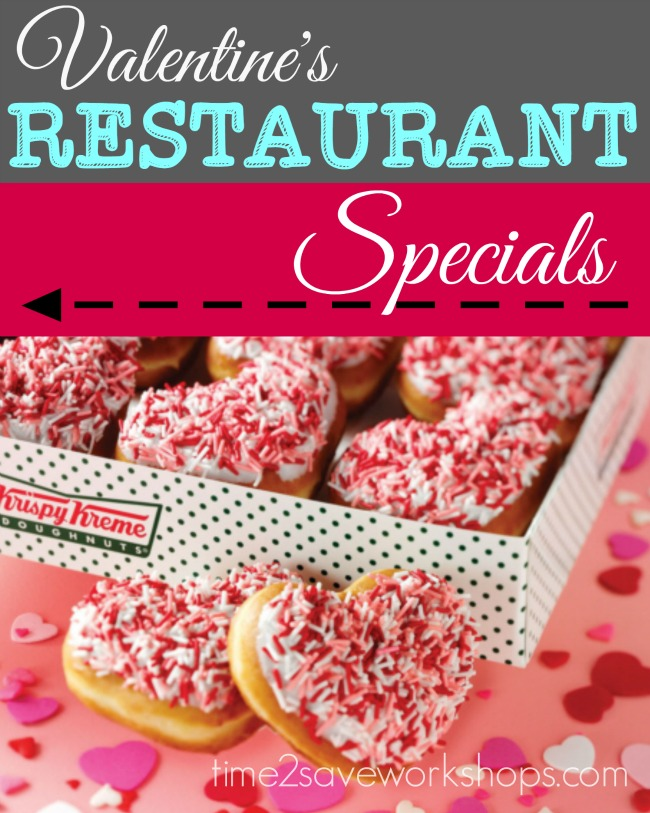 valentine restaurant specials - Valentines Day Food Specials