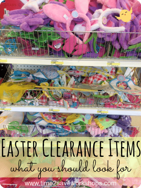 Easter Clearance Items on www.time2saveworkshops.com