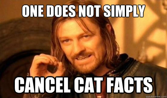 cat-facts-cancel