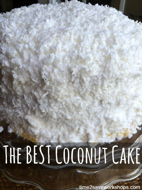 Best Coconut Cake Recipe In The World