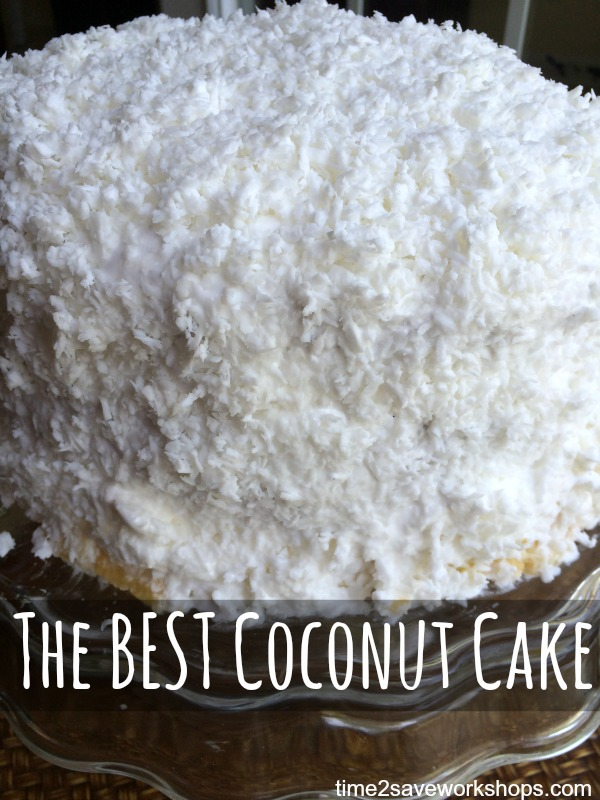 The Best Coconut Cake EVER!